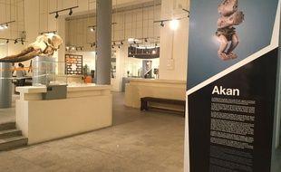 Le musée des Civilisations de Côte d'Ivoire, à Abidjan.