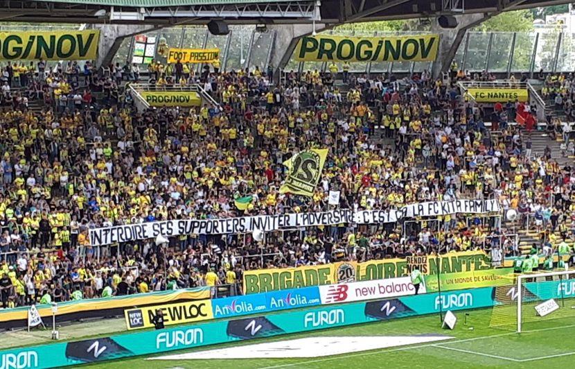 FC Nantes: Nez cassé d'un fan, «j'ai vu un Taser»... Que s'est-il passé en tribune Loire dimanche?