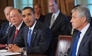 Barack Obama devrait nommer lundi l'ancien sénateur républicain Chuck Hagel à la tête du Pentagone ont rapporté dimanche des médias américains, au grand dam de plusieurs élus de son propre camp, augurant de vifs débats pour la confirmation de ce franc-tireur par le Sénat.