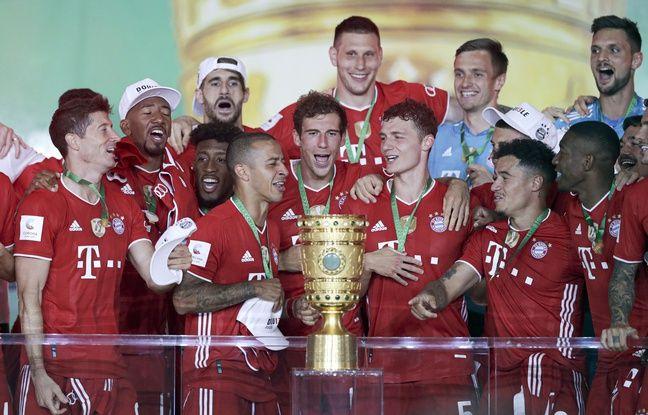 Football: Et de 20 Coupes d'Allemagne pour le Bayern Munich, avec le doublé Coupe-Championnat en prime