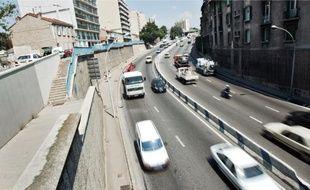 Le boulevard Fleming relie le Jarret et l'autoroute nord.