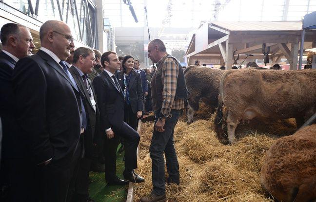 Salon de l'Agriculture: Emmanuel Macron reçoit mardi les syndicats de la profession