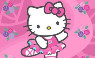 Hello Kitty. Image d'illustration.