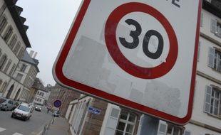 Panneau Zone 30 (illustration)