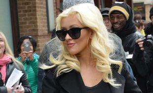 Christina Aguilera à Manhattan à New York en avril 2014.