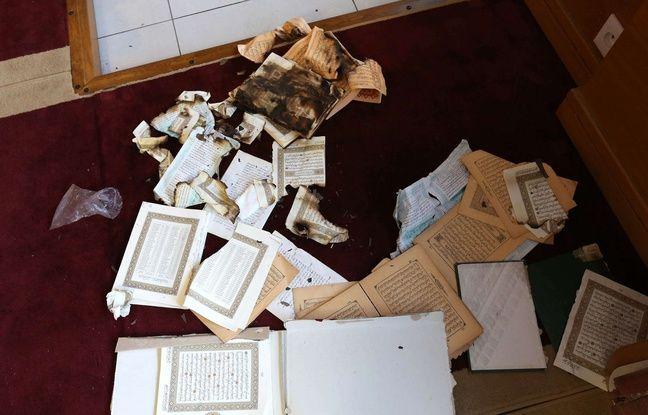 Une salle de prière musulmane a été saccagée à Ajaccio, le 25 décembre 2015.