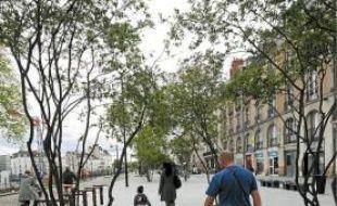 La nouvelle promenade Feydeau-Bouffay est achevée.