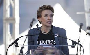 Scarlett Johansson lors de la «Marche des femmes» à Los Angeles le 20 janvier 2018