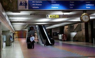 L'aéroport de Caracas, le 14 décembre 2013.