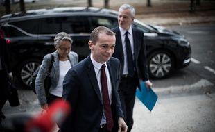 Le secrétaire d'Etat auprès du ministre de l'Action et des comptes publics, Olivier Dussopt, le 29 Octobre 2018.