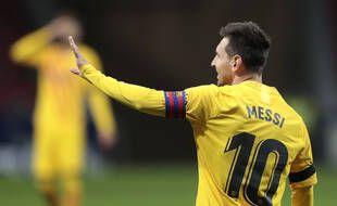 Lionel Messi lors de Barça-Atlético Madrid, le 21 novembre 2020.