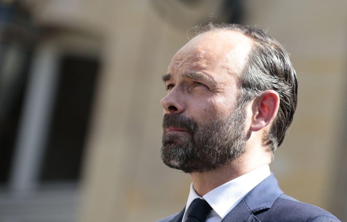 Edouard Philippe à Matignon, le 115 mai 2017. – Joel SAGET / AFP