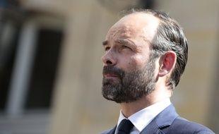 Edouard Philippe à Matignon, le 115 mai 2017.