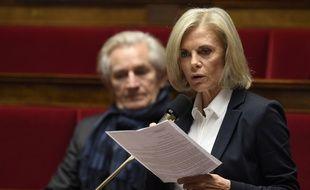 La députée PS de Seine-saint-Denis Elisabeth Guigou à l'Assemblée nationale le 9 novembre 2016.