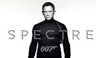 L'affiche du prochain James Bond, «Spectre».