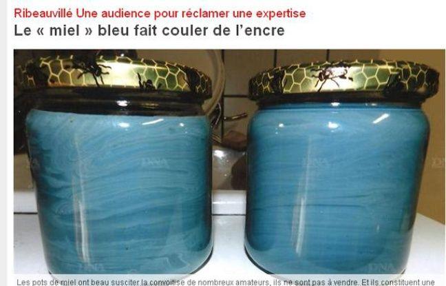 Capture d'écran du site des Dernières nouvelles d'Alsace.