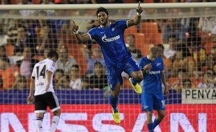 Hulk avait inscrit un spectaculaire doublé lors de la première journée de Ligue des champions à Valence (2-3) le 16 septembr.