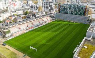 Le stade Marcel-Saupin.