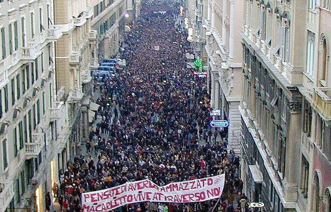 Bretagne: Arrestation d'un activiste italien en cavale depuis le G8 de Gênes en 2001