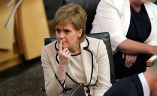 La Première ministre écossaise Nicola Sturgeon au Parlement écossais le 28 juin 2016