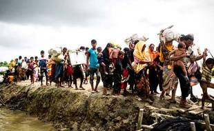 L'exode des Rohingyas