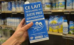 Depuis six mois, la marque C'est qui le patron?! vend un lait au cahier des charges défini par les consommateurs
