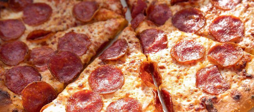 Illustration d'une pizza