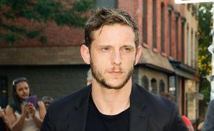L'acteur Jamie Bell à l'avant-première des 4 Fantastiques à New York