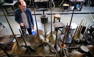 Chez le fabricant d'instruments de musique PGM-Couesnon, à Etampes-sur-Marne, dans l'Aisne.