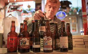 Bières de Noël de différentes microbrasseries alsaciennes