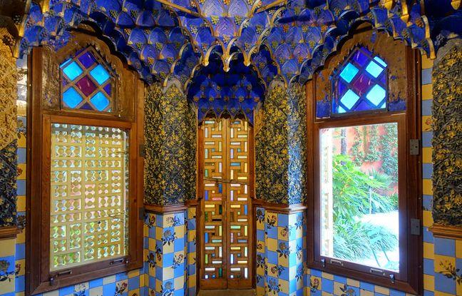 L'intérieur mujédar de la Casa Vincens semble tirée d'un conte des Milles-et-une nuits.