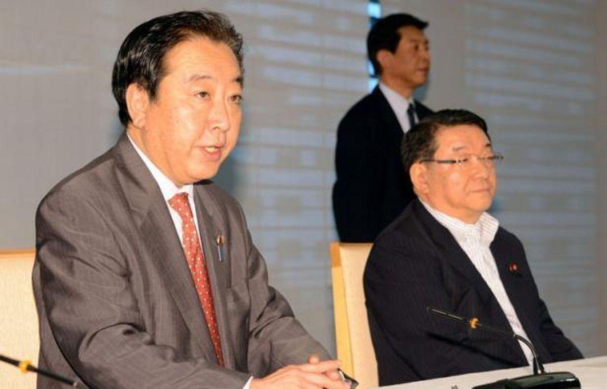 Le Premier ministre nippon, Yoshihiko Noda, a ordonné samedi le redémarrage de deux réacteurs nucléaires de l'ouest du Japon, une première depuis l'accident atomique de Fukushima provoqué par le tsunami du 11 mars 2011, en dépit d'une opinion encore sous le choc et réticente. – Toshifumi Kitamura afp.com
