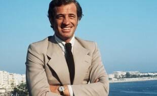 L'acteur Jean-Paul Belmondo à Cannes, en 1974, à l'occasion du Festival.