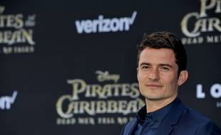 L'acteur Orlando Bloom à Los Angeles