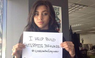 Pour combattre le sexisme dans le secteur des hautes technologies, Isis Anchalee a créé, en août 2015, le hastag #iLookLikeAnEngineer, qui cartonne qui Twitter.