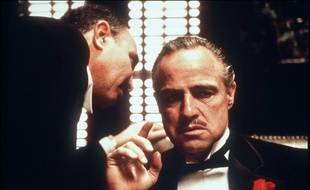 Marlon Brando, dans Le Parrain de Francis Ford Coppola