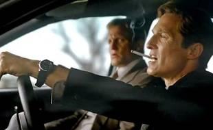 Matthew McConaughey et Woody Harrelson dans True Detective
