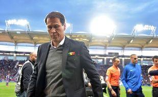 Rudi Garcia après la victoire de Marseille à Toulouse, en mai 2019.