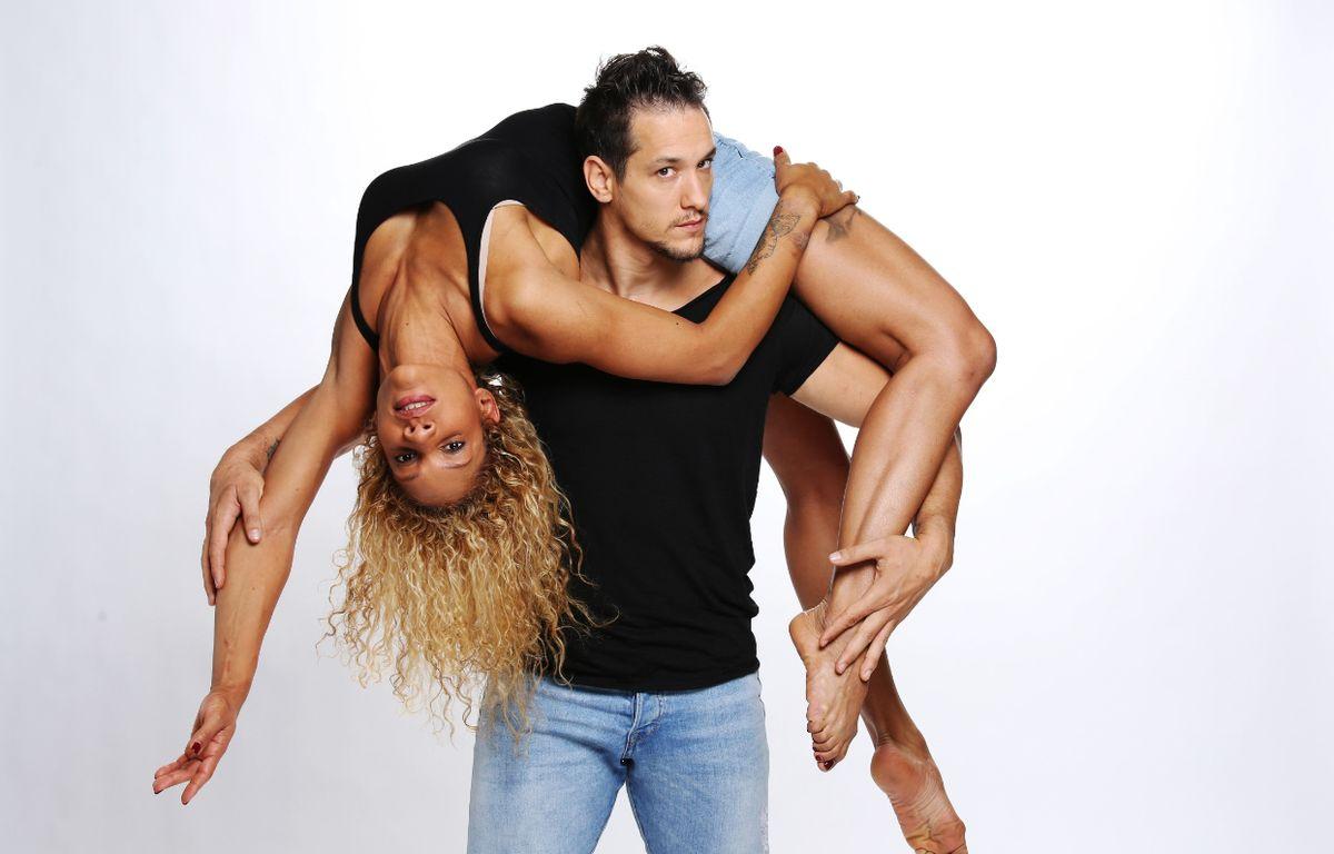 Cécile et Roman, acrobates et candidats à la saison 10 de «La France a un incroyable talent». – PIERRE OLIVIER/M6