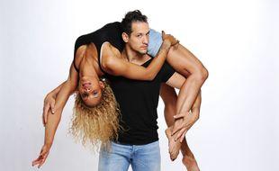 Cécile et Roman, acrobates et candidats à la saison 10 de «La France a un incroyable talent».