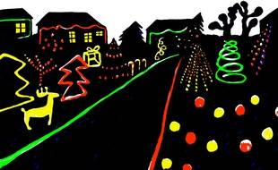 Le village de Vimpelles (Seine-et-Marne) se recouvre chaque année de décorations de Noël conçues par ses habitants.