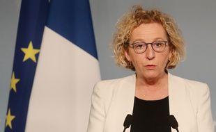 La ministre du Travail Muriel Pénicaud le 1er avril 2020.