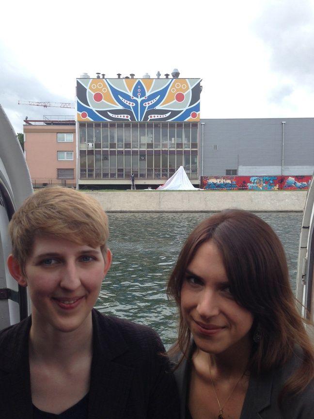 Merle Sommer et Nina Kronenberger.