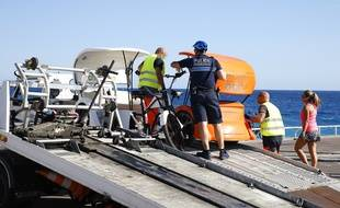 Mercredi, onze vélos-taxis ont été saisis à Nice.
