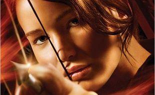 Affiche du film «Hunger games».