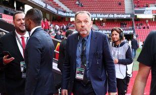 Stéphane Guy, lors du match entre Rennes et le PSG en août 2019.