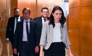 La première ministre de Nouvelle-Zélande, Jacinda Ardern