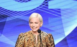 Michelle Williams, le 3 août 2019, lors de la remise de prix de la Television Critics Association.