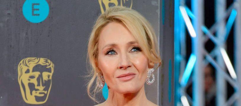 L'auteure J.K. Rowling.