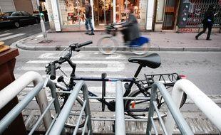 Un vélo à Marseille